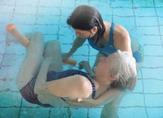 Körperarbeit im Wasser
